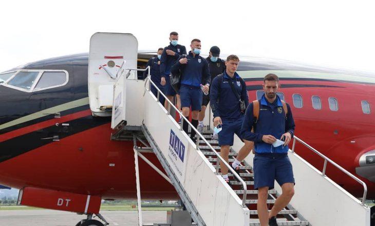 Kombëtarja e Kosovës arrin në Batumi