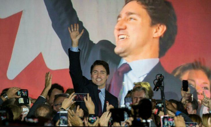 Liberalët fitojnë zgjedhjet në Kanada