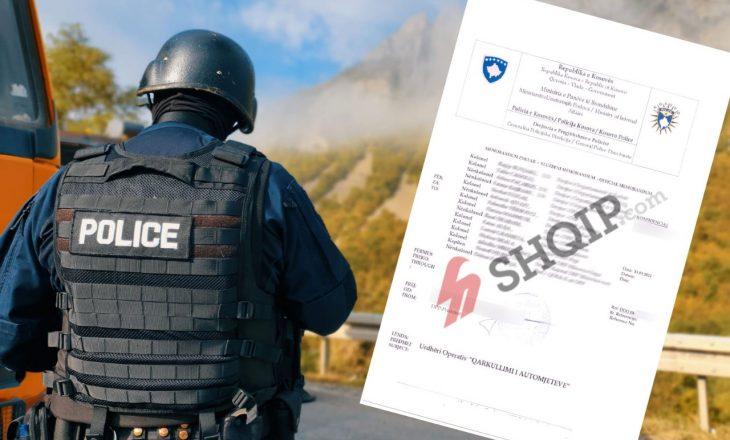 """Ekskluzive: Kështu u planifikua operacioni në Veri nga policia – """"rreziku i mesëm kah i lartë"""", përdorimi i forcës, sipas ligjit"""