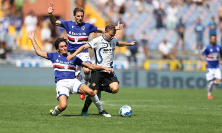 Interi barazon me Sampdorian