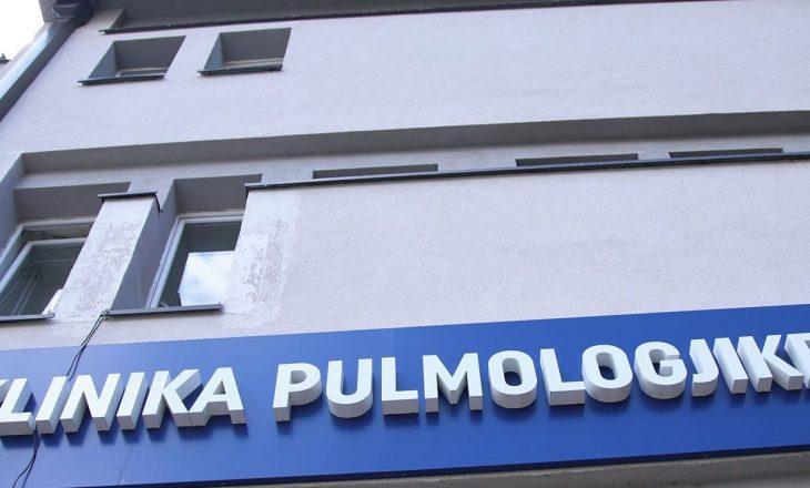 99% e pacientëve në Pulmologji të pavaksinuar