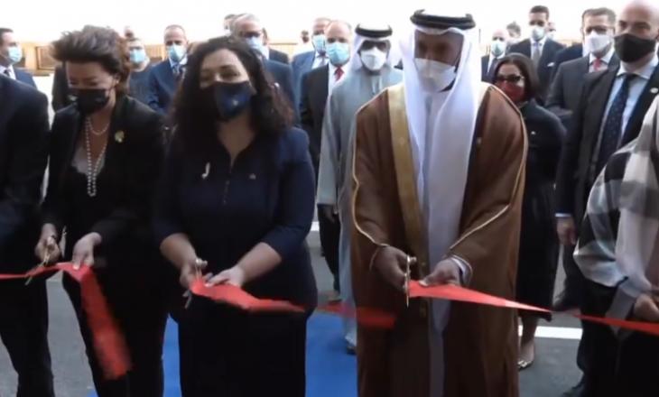 Inaugurohet Spitali për Fëmijë, Osmani falënderon Emiratet e Bashkuara Arabe