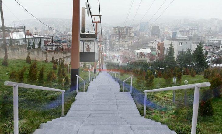 Haradinaj premton ndërtimin e teleferikut te shkallët e Arbërisë