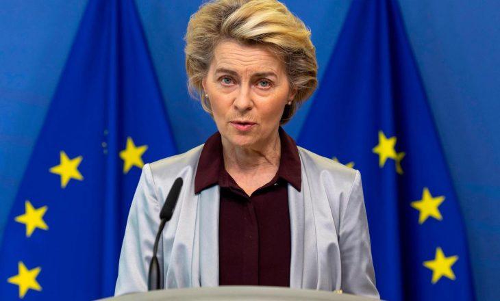 Presidentja e Komisionit Evropian viziton Kosovën