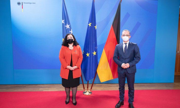 Osmani në Gjermani: Epilogu i dialogut Kosovë-Serbi duhet të jetë njohja reciproke