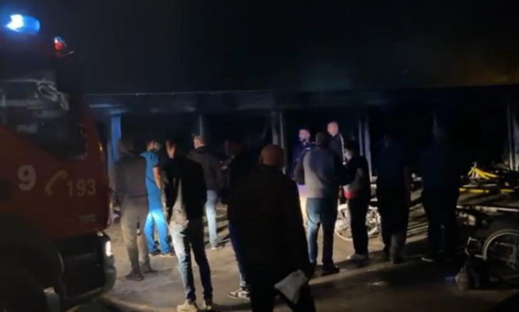 Dyshohet për afër 10 të vdekur nga zjarri në spitalin e Tetovës
