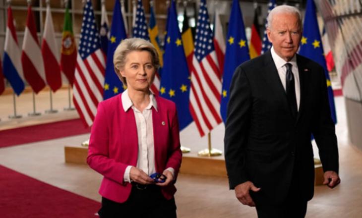 Biden bisedon në telefon me Von der Leyen për procesin e pranimit të Ballkanit Perëndimor në BE