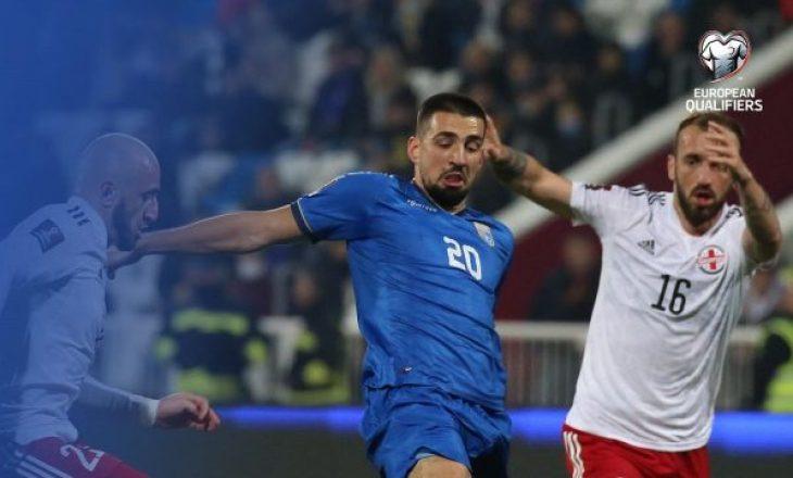 """Kosova mposhtet nga Gjeorgjia, e """"prek"""" fundin në Grupin B"""