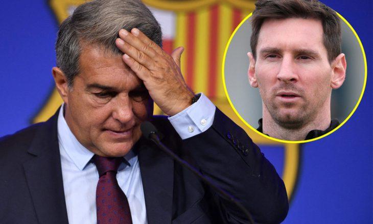 Laporta: Shpresoja që Messi të thoshte se ishte i gatshëm të luante falas