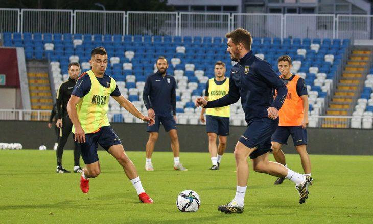 Amtosferë pozitive në kampin e Dardanëve, para ndeshjes ndaj Suedisë