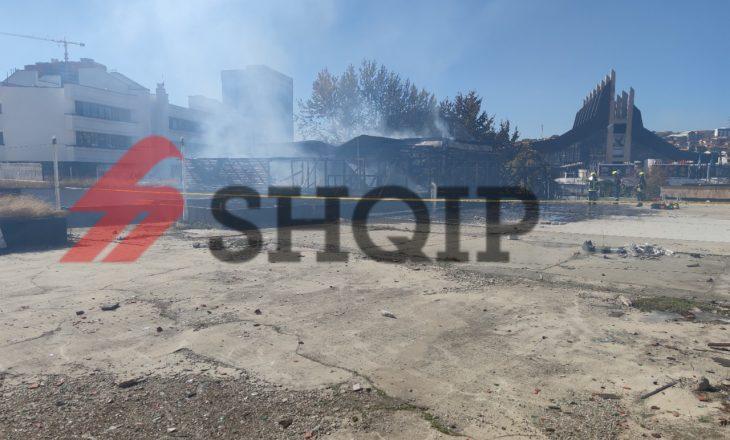 Lokali në Prishtinë që u dogj nuk ishte funksional