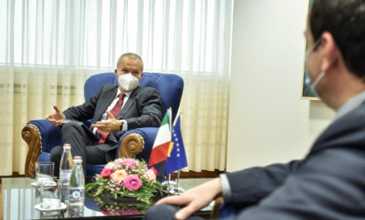 Ambasadori italian: Kosova – pikë qendrore përmes së cilës kalon çdo rrugë që lidh Ballkanin