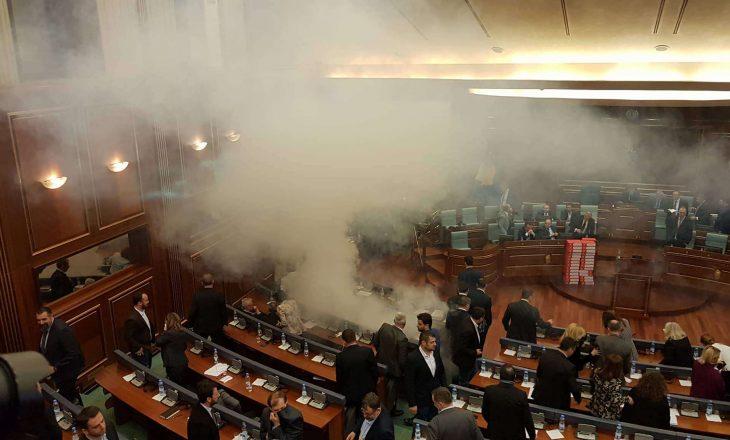 Aktakuzë ndaj Mytaher Haskukës, Rexhep Selimit e tre ish-deputetëve për hedhje të gazit lotsjellës