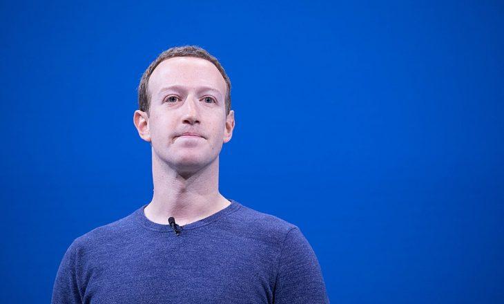 Mark Zuckerberg: Na falni për sot